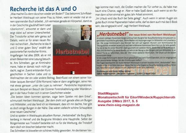 Pressebericht-Stadtmagazin