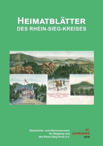 Heimatblätter des Rhein-Sieg-Kreises Nr. 87