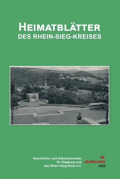 Heimatblätter des Rhein-Sieg-Kreises Nr. 88